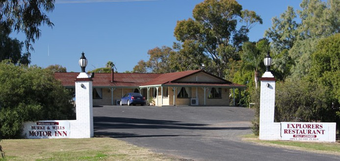 Burke and Wills Motor Inn - Moree - Accommodation Cooktown