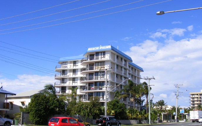 Beach Palms Holiday Apartments - Accommodation Cooktown