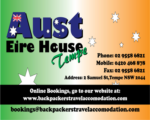 Aust Eire House Tempe - Accommodation Cooktown