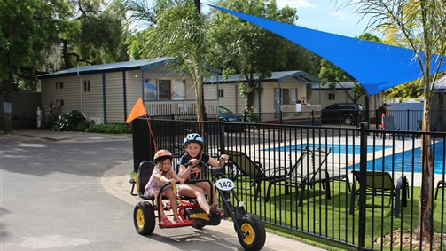Barwon River Tourist Park - Accommodation Cooktown