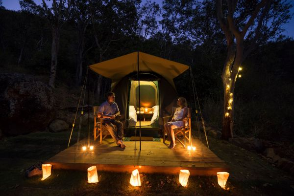 Keswick Island Camping and Glamping - Accommodation Cooktown