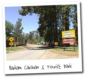 Barham Caravan And Tourist Park - Accommodation Cooktown