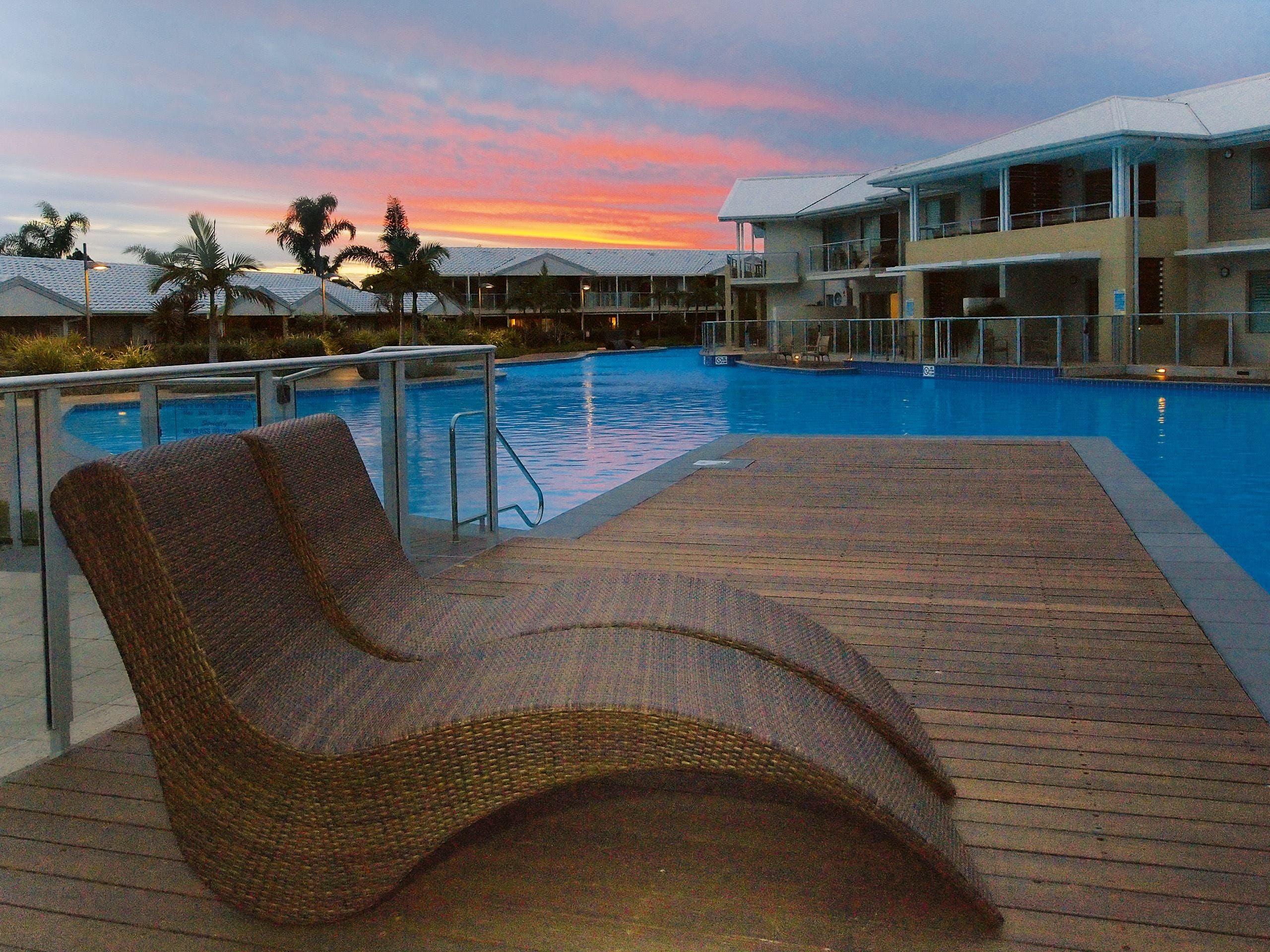 Oaks Port Stephens Pacific Blue Resort - Accommodation Cooktown
