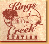 Kings Creek Station - Accommodation Cooktown