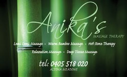 Anikas Massage Therapy - Accommodation Cooktown