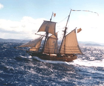 Enterprize - Melbourne's Tall Ship - Accommodation Cooktown