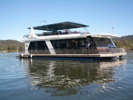 Able Hawkesbury River Houseboats - Accommodation Cooktown