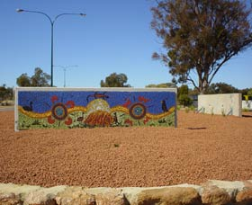 Council Office Mosaic - Accommodation Cooktown
