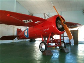 Captain Harry Butler Red Devil Monoplane Memorial - Accommodation Cooktown