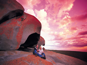 Remarkable Rocks Flinders Chase National Park - Accommodation Cooktown