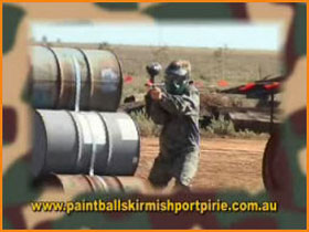 Paint Ball Skirmish Port Pirie - Accommodation Cooktown
