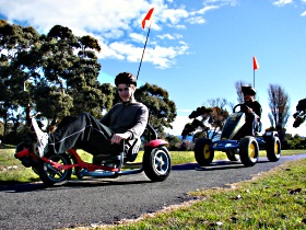 Pedal Buggies Tasmania - Accommodation Cooktown