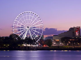 The Wheel of Brisbane - Accommodation Cooktown