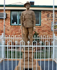 Soldier Statue Memorial Chinchilla - Accommodation Cooktown