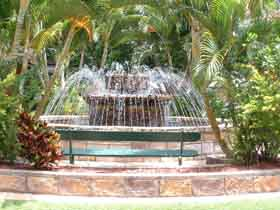 Bauer and Wiles Memorial Fountain - Accommodation Cooktown