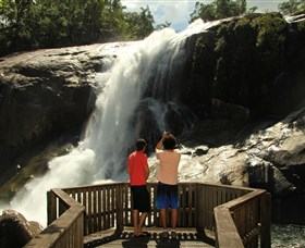 Murray Falls Girramay National Park - Accommodation Cooktown