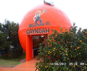 Gayndahs Big Orange - Accommodation Cooktown