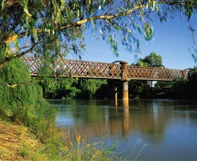 Narrandera Rail Bridge - Accommodation Cooktown