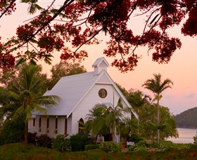 All Saints Chapel - Hamilton Island - Accommodation Cooktown