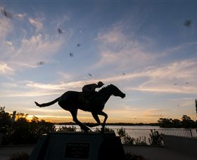 Black Caviar Statue - Accommodation Cooktown
