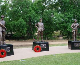 VC Memorial Park - Honouring Our Heroes - Accommodation Cooktown