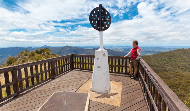 Mount Kaputar summit walk - Accommodation Cooktown