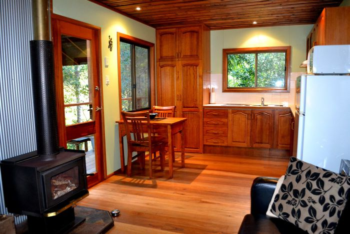 Waterfall Hideout-Rainforest Cabin for Couples - Accommodation Cooktown