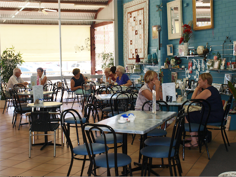 Inspirations Cafe Gift and Patchwork Gallery - Accommodation Cooktown
