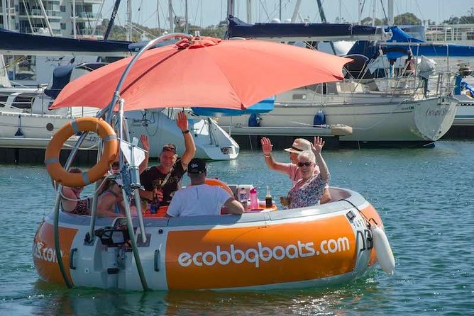 Self-Drive BBQ Boat Hire Mandurah - Group of 7 - 10 people - Accommodation Cooktown
