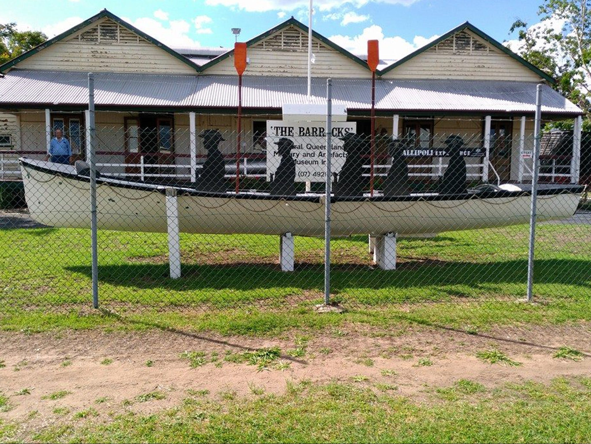C.Q. Military and Artifacts Museum - Accommodation Cooktown