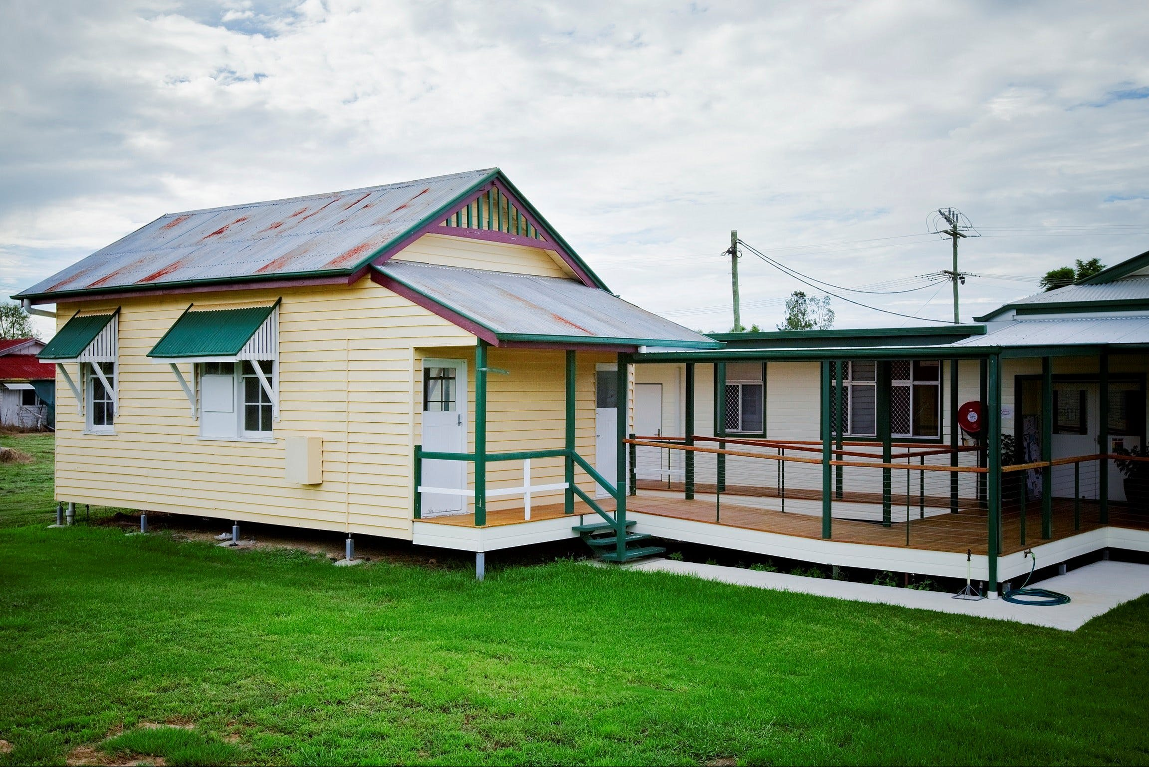 The Old Injune Courthouse and Museum - Accommodation Cooktown
