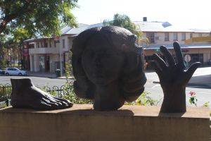 Celebration of life statue Barmera - Accommodation Cooktown