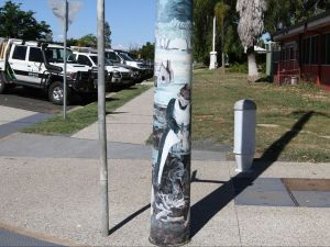 Capella Light Pole Murals - Accommodation Cooktown