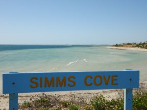 Simms Cove lookout and beach Moonta Bay - Accommodation Cooktown