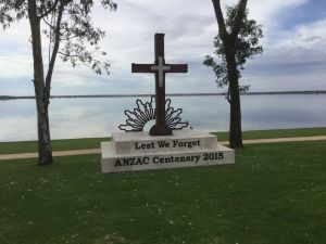 Anzac Centenary Cross - Accommodation Cooktown