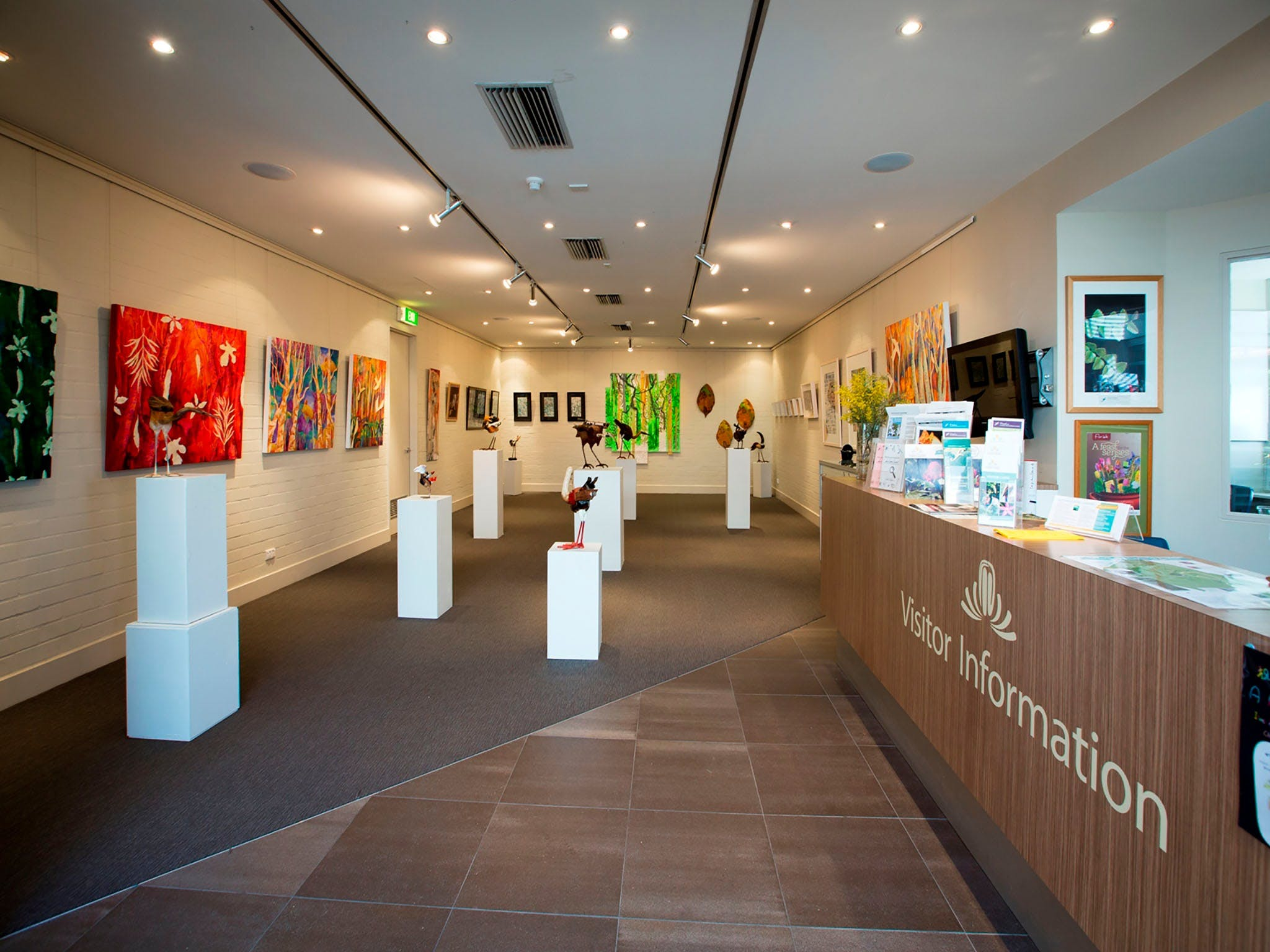 Australian National Botanic Gardens Visitor Centre Gallery - Accommodation Cooktown
