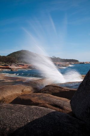 Bicheno Blowhole - Accommodation Cooktown