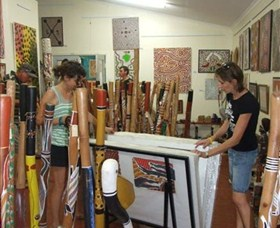 Top Didj and Art Gallery - Accommodation Cooktown