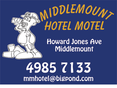 Middlemount Hotel Motel Accommodation - Accommodation Cooktown
