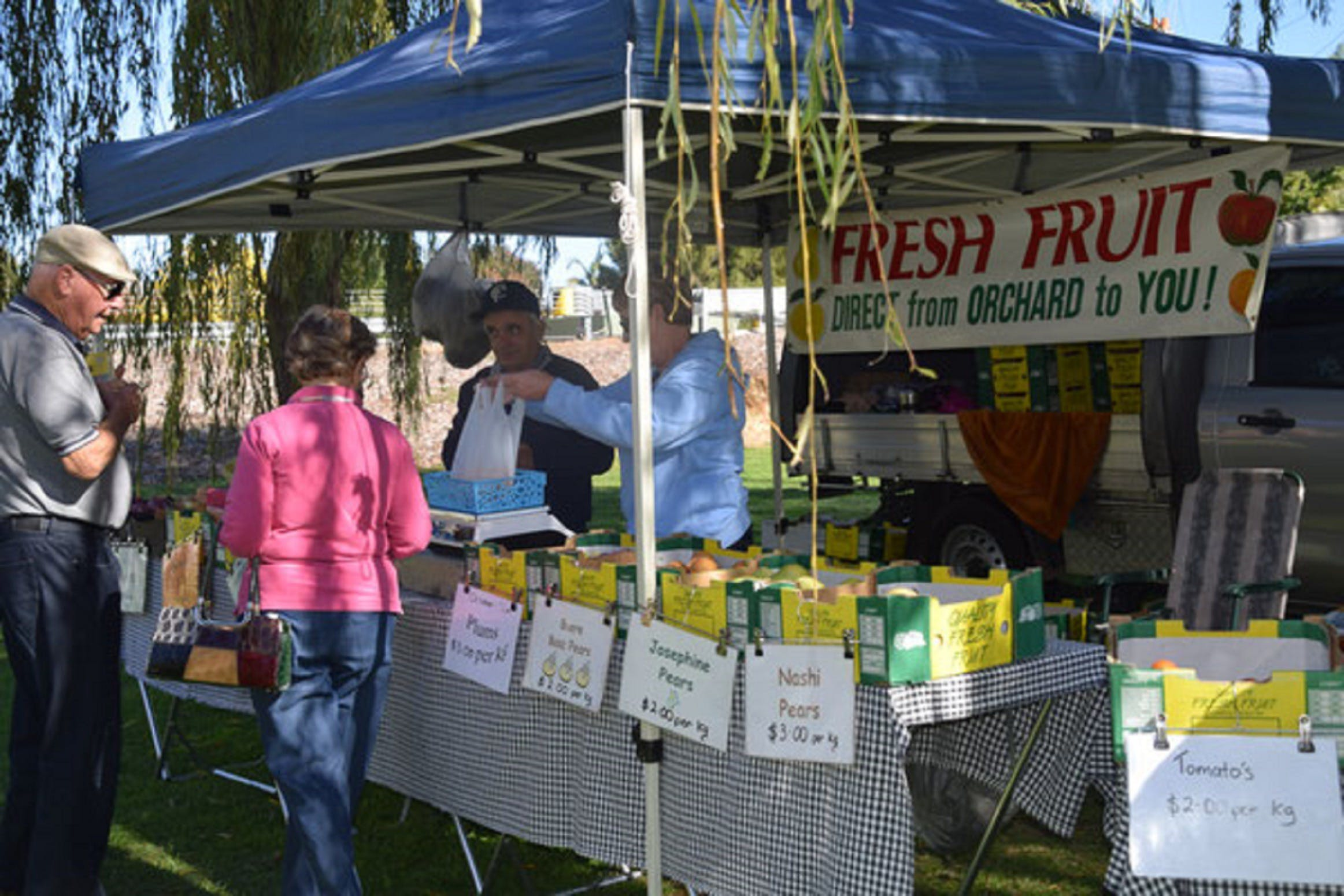Corowa Rotary Federation Festival Market - Accommodation Cooktown