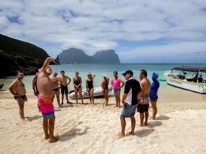 Ocean Swim Week with Trevor Hendy Pinetrees Lord Howe Island - Accommodation Cooktown