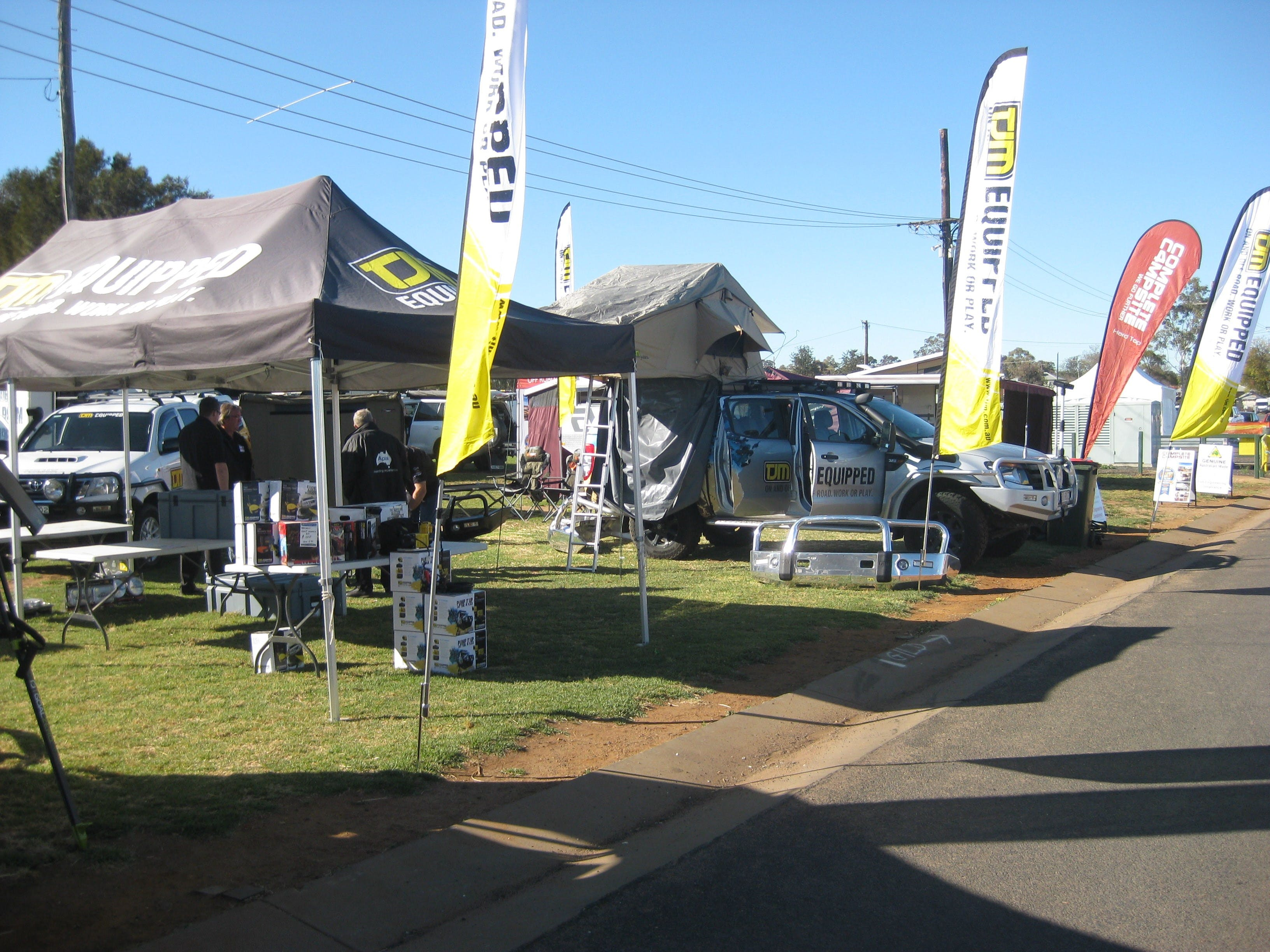 Orana Caravan Camping 4WD Fish and Boat Show - Accommodation Cooktown
