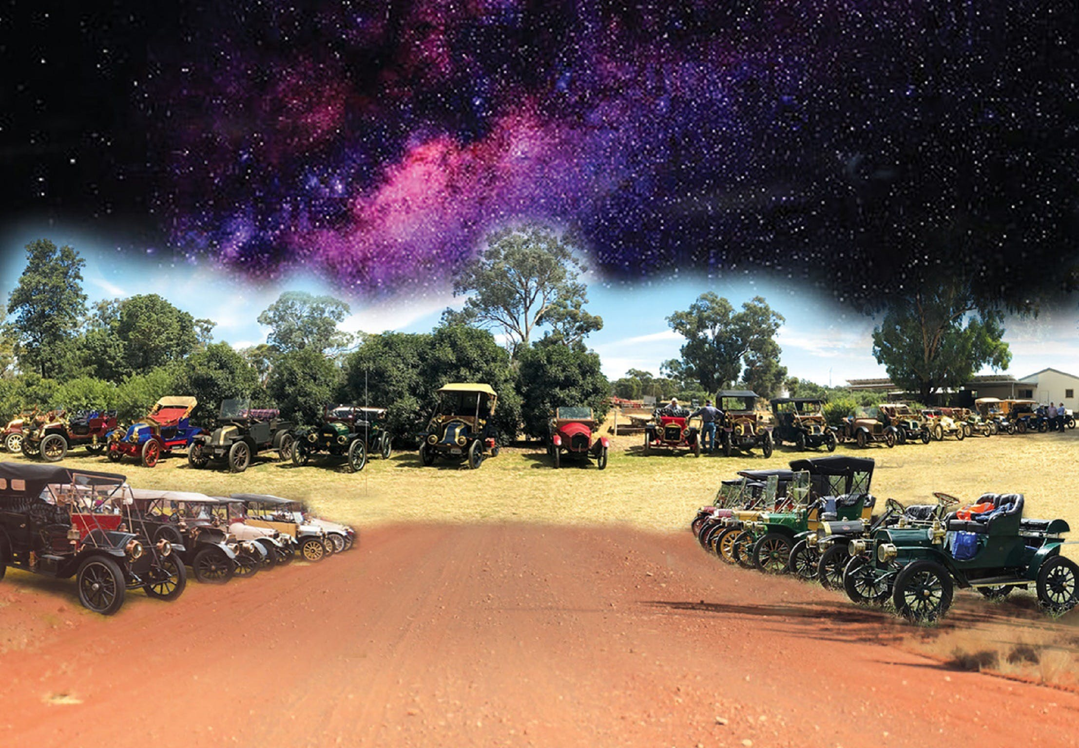 National Veteran 1 and 2 Cylinder Rally - Accommodation Cooktown