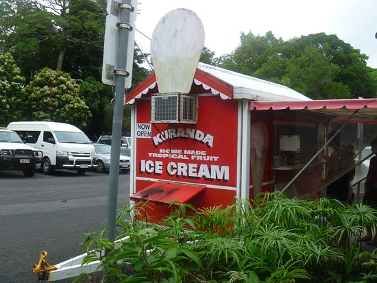 Kuranda Homemade Tropical Fruit Ice Cream - Accommodation Cooktown