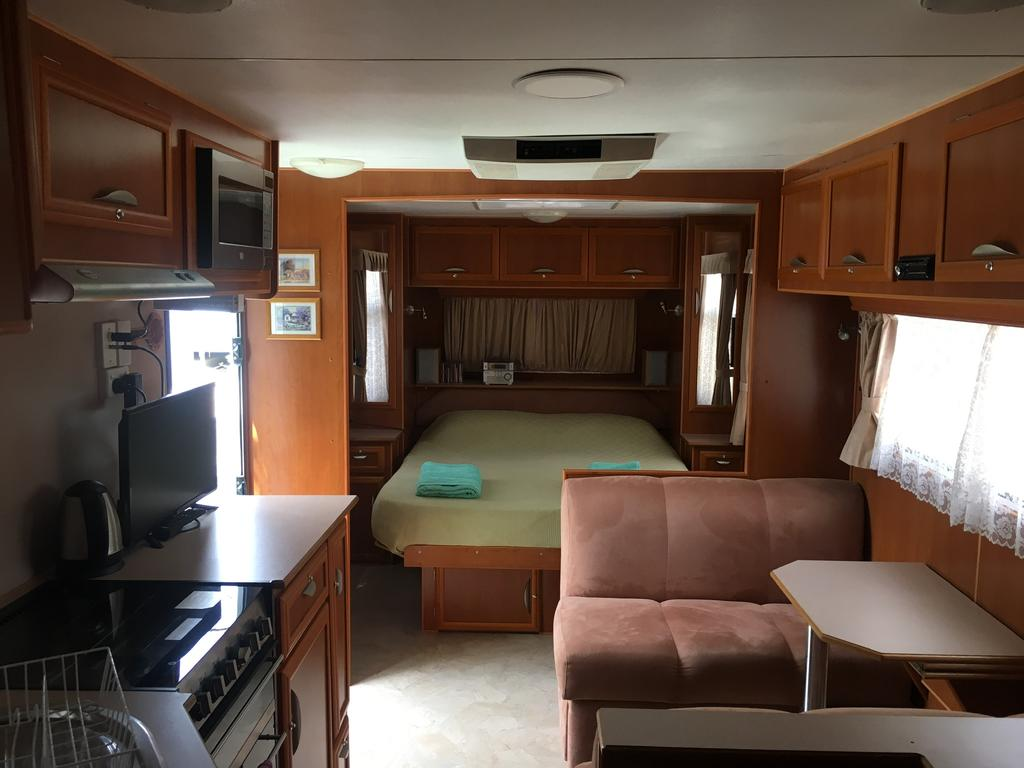 luxury caravan Cooktown